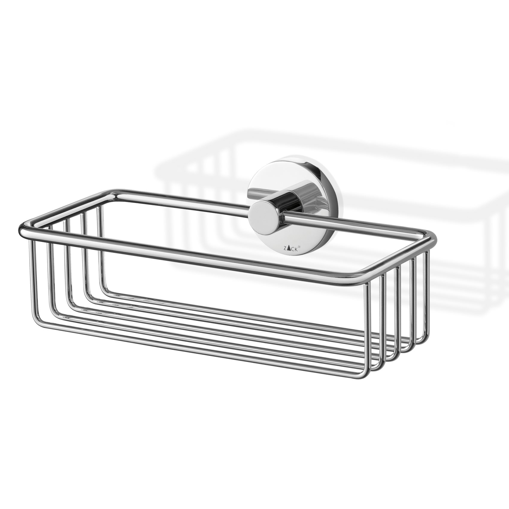 ZACK shower basket SCALA polished stainless steel for wall mounting ...