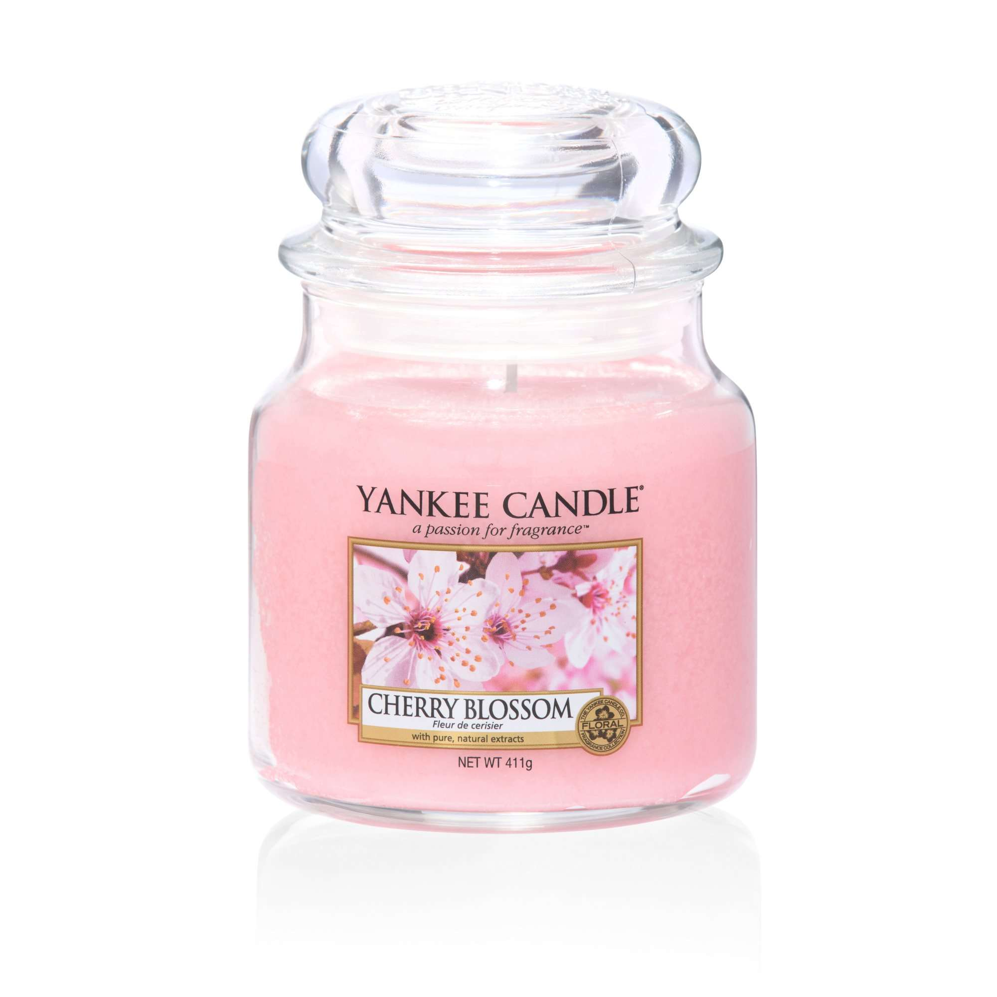 Cherry Blossom Yankee Candle Medium Jar Scented Candle