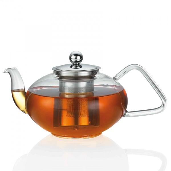 Küchenprofi Teekanne Tibet 15 Liter Glas Mit Siebeinsatz Und Deckel