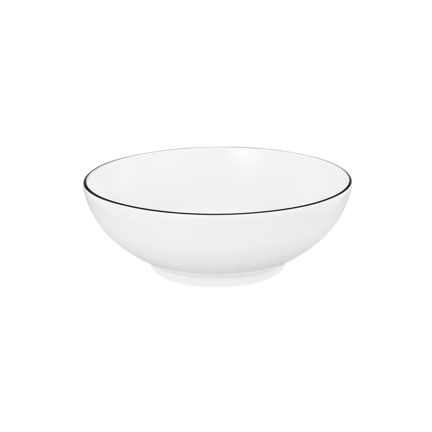 seltmann weiden lido 6 st ck dessertschale 10826 black line 15 cm dessertschalen porzellan. Black Bedroom Furniture Sets. Home Design Ideas