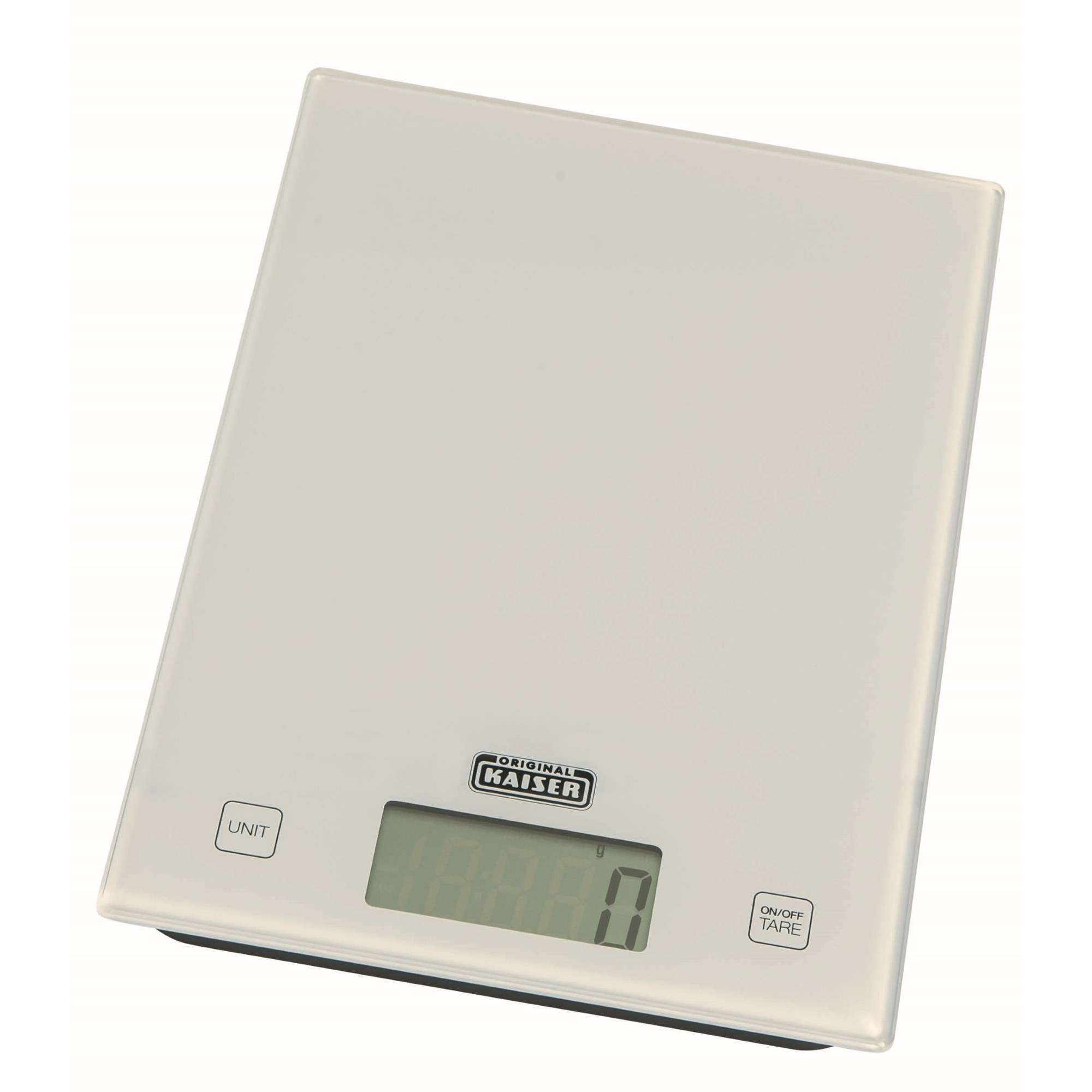 Kaiser Baking Scales Kitchen Scales Digital White Scales
