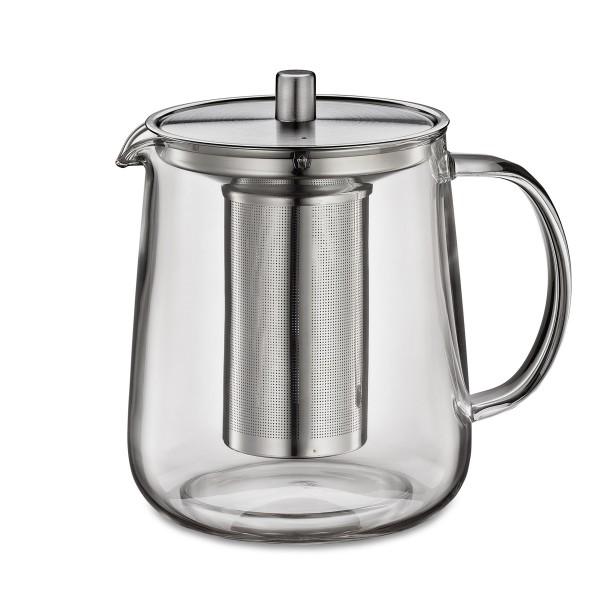 Küchenprofi Teekanne Assam 10 Liter Glas Mit Siebeinsatz Und Deckel