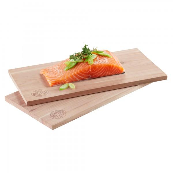 GEFU BBQ cedar wood grill board 2 pieces