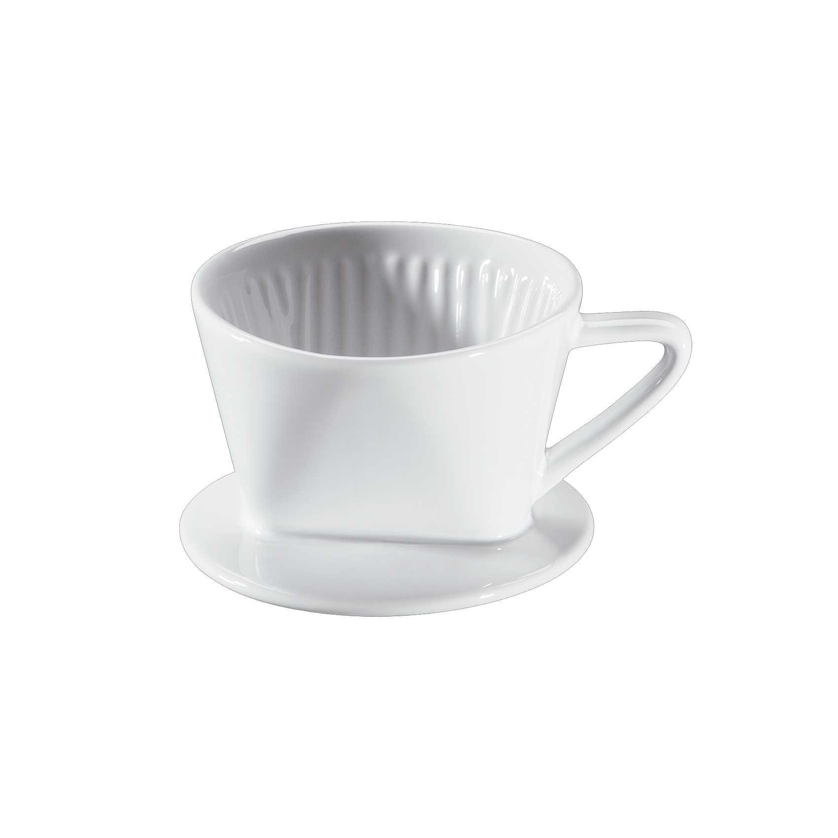 cilio porzellan kaffeefilter gr e 1 wei kaffeefilter kaffee espresso essen trinken. Black Bedroom Furniture Sets. Home Design Ideas