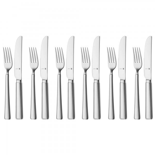 WMF_1191566340_2000x2000  sc 1 st  1a-Neuware & WMF MICHALSKY cutlery set dessert cutlery / breakfast cutlery 12 ...