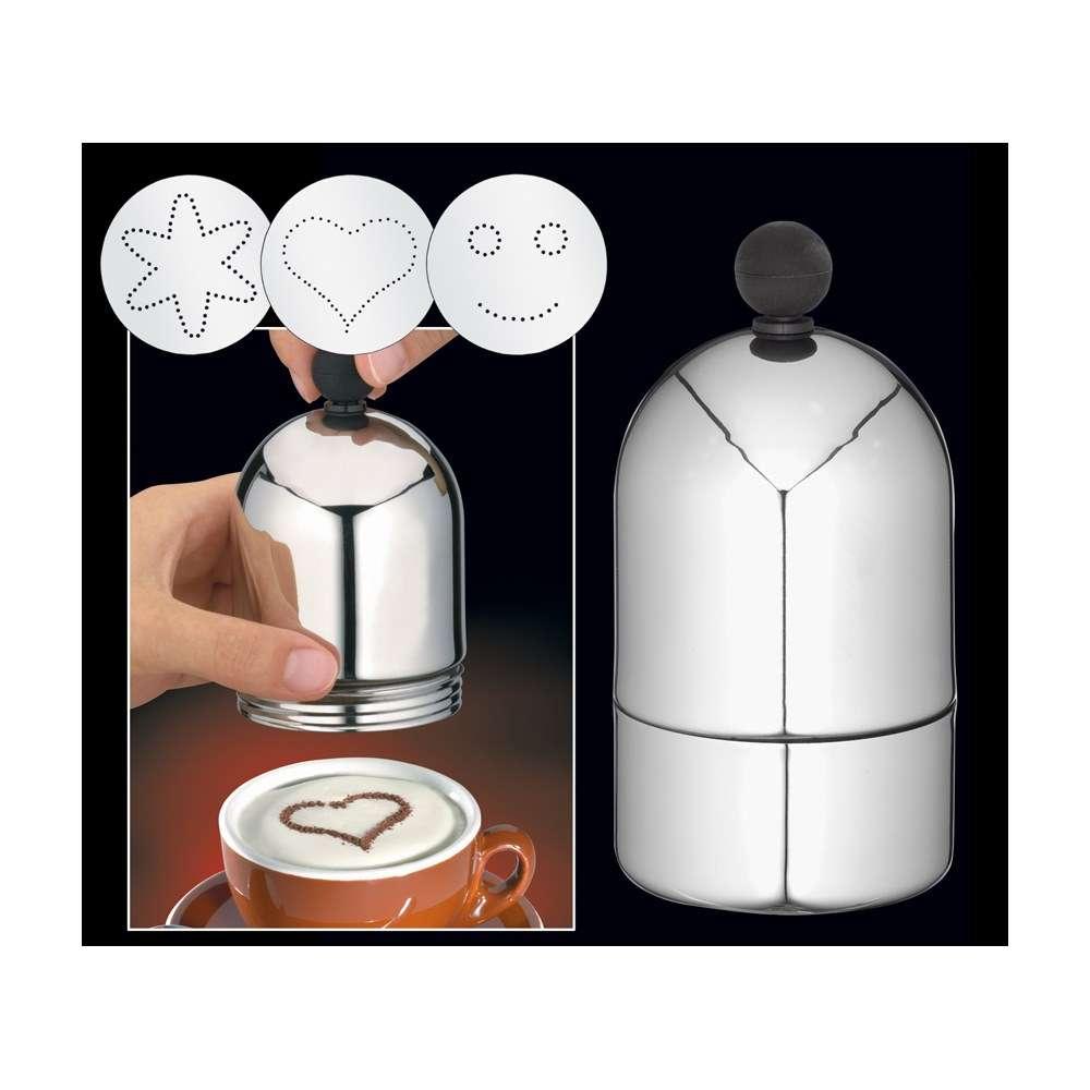 Cilio Schablonen Cappuccino Art 6-er Set