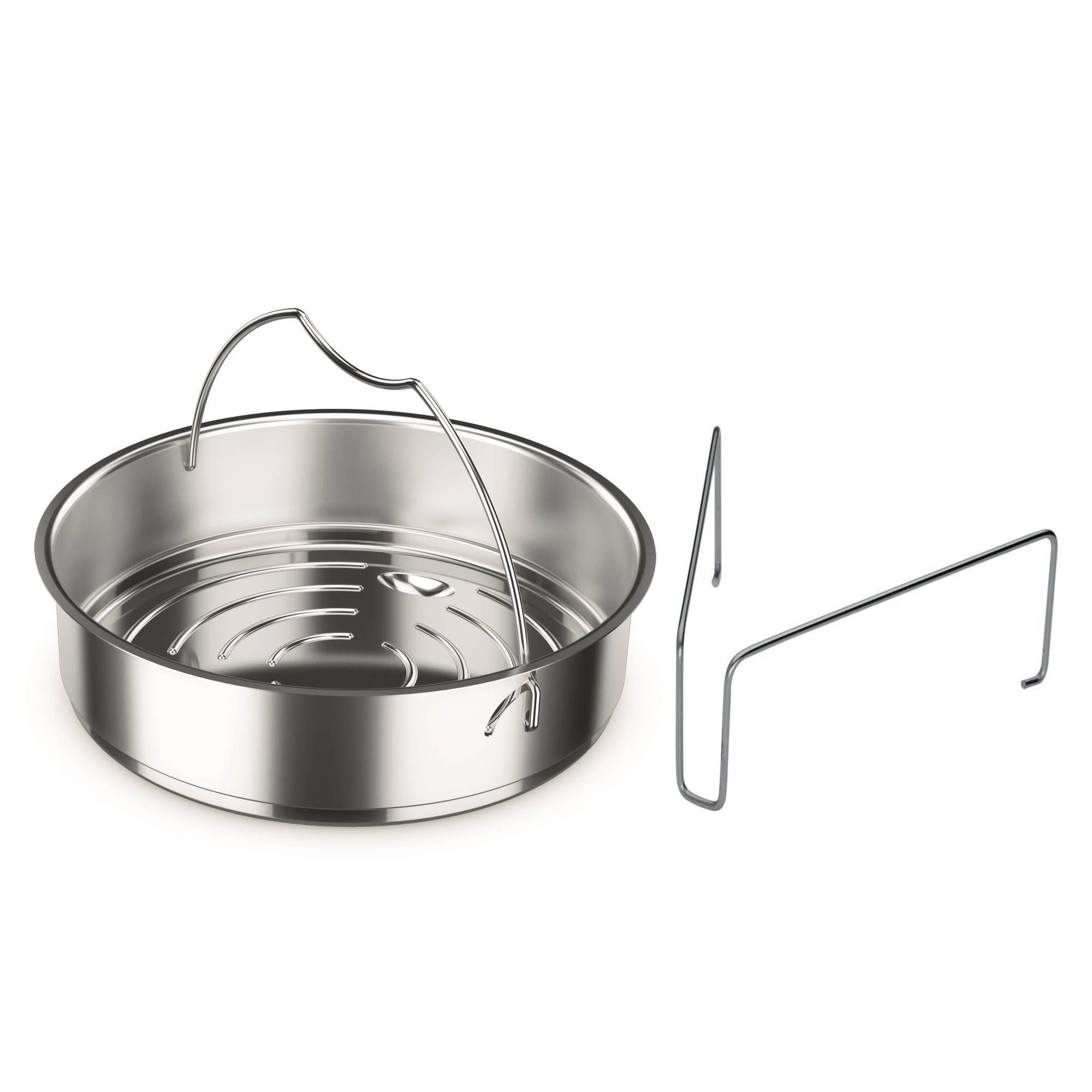 fissler einsatz f r schnellkochtopf 26 cm steg zubeh r kochen kochen backen 1a neuware. Black Bedroom Furniture Sets. Home Design Ideas
