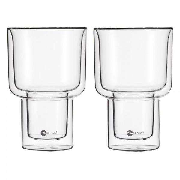 jenaer glas becher match doppelwandig xxl 2er set hot n cool teegl ser doppelwandige becher. Black Bedroom Furniture Sets. Home Design Ideas